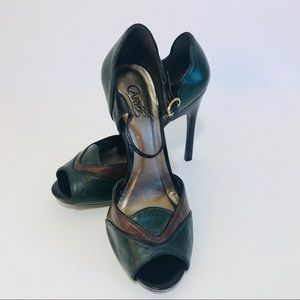 CARLOS By Carlos Santana stiletto shoes leather